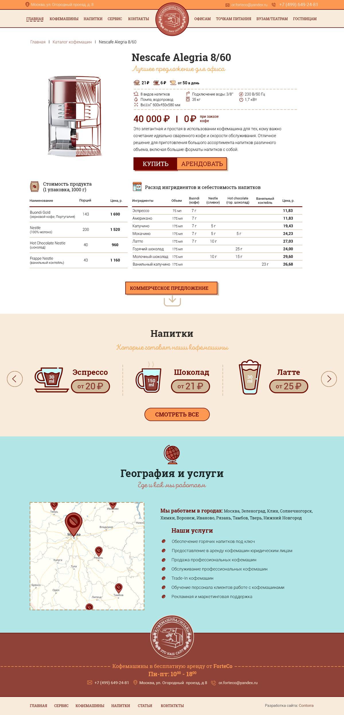 Дизайн сайта цены москва