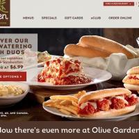 Хорошие сайты, часть 2. Ресторан Olive Garden
