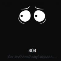 Картинки для вдохновения. Лучшие 404 в 2015 (Dribbble)