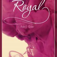 Royal nail bar, Сочи: дизайн флаера