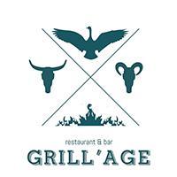 Дизайн логотипа ресторана Грильяж