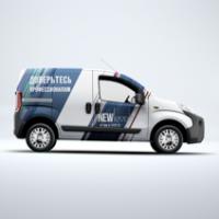 Дизайн логотипа и фирменный стиль компании New Level, Сочи