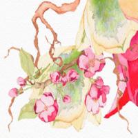 Арбатские цветочницы, Москва (редизайн логотипа и сайта)