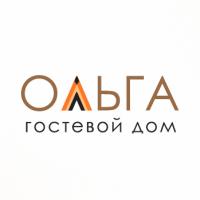 Логотип гостевого дома Ольга, версия 1
