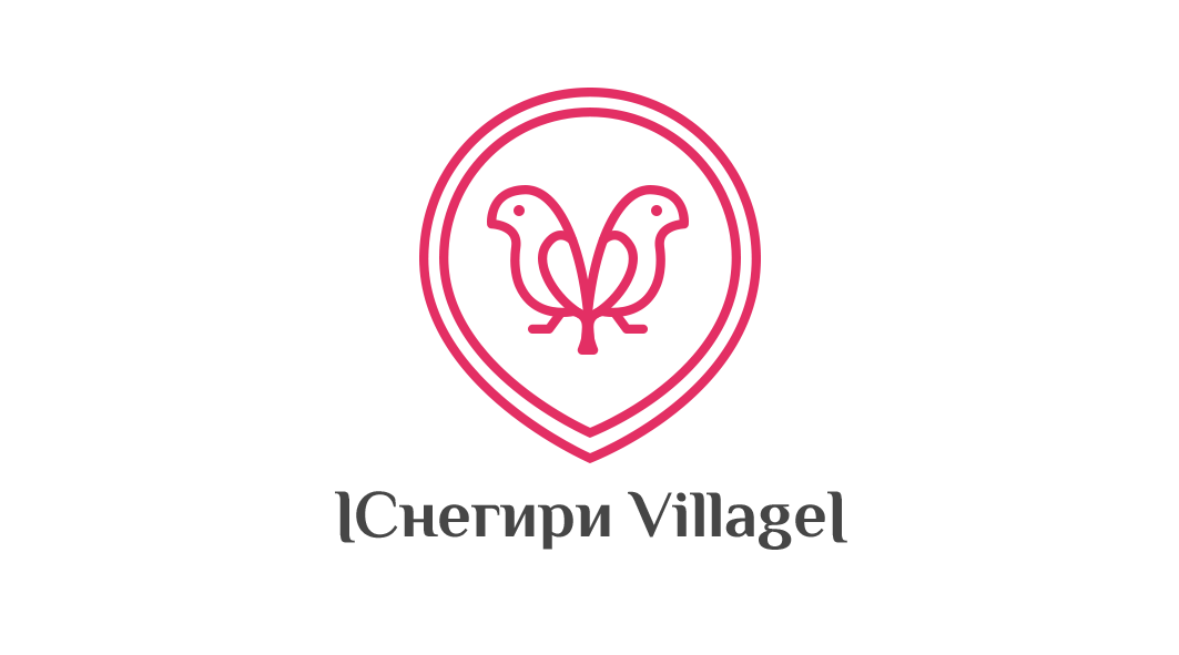 Snegiri Village logo (version 9)