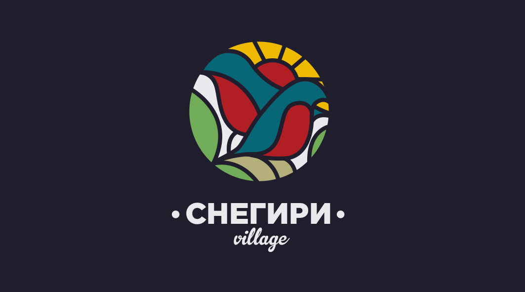 Snegiri Village logo (version 8)