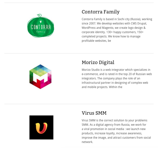 Contorra Family в рейтинге Top Interactive Agencies (TIA)