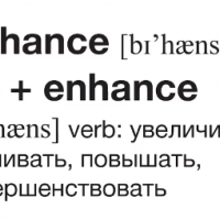 Be + enhance = Behance