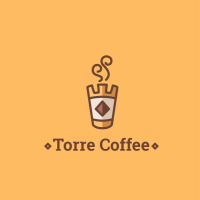 Дизайн логотипа кафе-кондитерской Torre Coffee, Москва