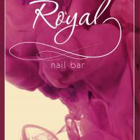 Royal nail bar, Сочи: дизайн флаера