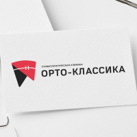 Разработка логотипа для стоматологической клиники Орто-Классика (Сочи)