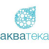 Акватека, доставка воды в Краснодаре (разработка логотипа)