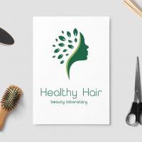 Создание логотипа салона красоты Healthy Hair (Москва)
