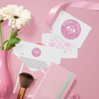 Дизайн лайтбокса и листовок для магазинов косметики Korean Beauty (Сочи)