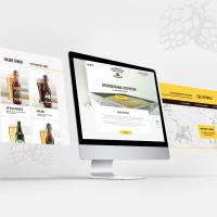 Создание промо-сайта Дагомысской крафтовой пивоварни