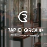 Дизайн логотипа для строительной компании Rapid Group (Махачкала)