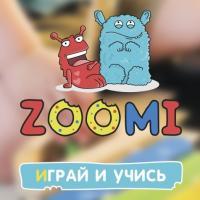 Нейминг, логотип и гайдлайн для сети магазинов игрушек Zoomi (Россия)