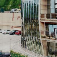 Разработка адаптивного одноэкранного сайта бизнес-центра Абрикос, Сочи