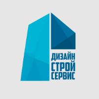 Одна из версий логотипа ДизайнСтройСервис