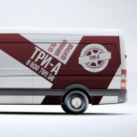 ТРИ-А, сеть шинных центров в Краснодаре и Сочи (логотип и фирменный стиль)