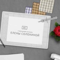 Создание логотипа студии дизайна интерьеров Елены Солохиной (Сочи-Москва)