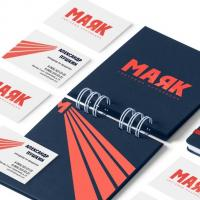 Logo & corporate identity for Mayak, Moscow