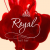 Royal nail bar, Sochi: logo and business card
